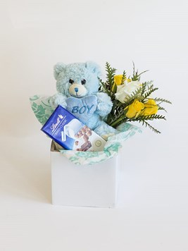 Snack & Gift Hampers: Baby Boy Lindt Box